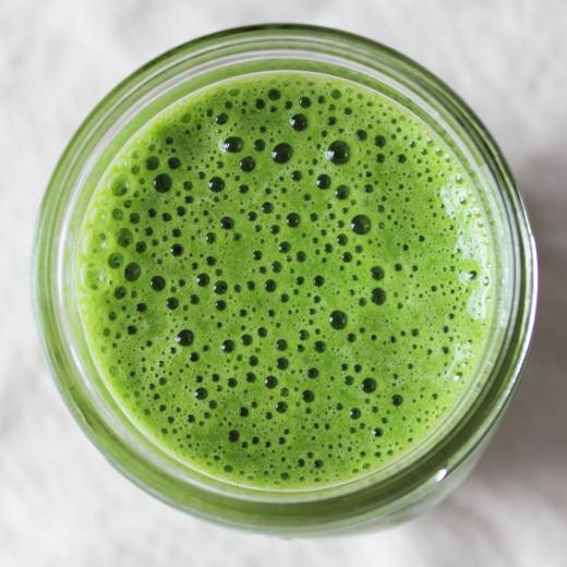 Green smoothie to go!