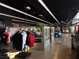 MINI dealerships have a unique look, which doesn't make waiting for your car to be repaired all that bad.