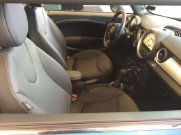 Even the interior of the MINI can seem a little tight and small.