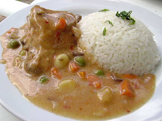 Peruvian Chicken stew