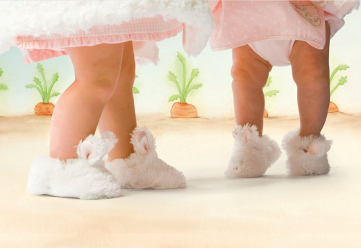 Let your Little One Jump in Joy with these Super Soft Bunny Slippers