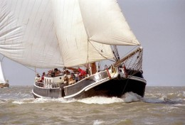 Sailing in The Ijsselmeer