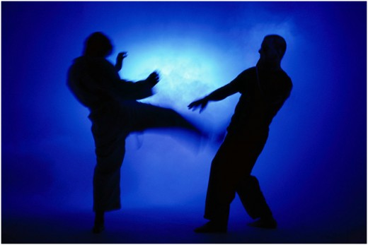 Get Involved in martial arts training; it will develop your self confidence, it helped me a lot.