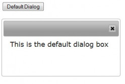How to create a JQuery Dialog box dynamically