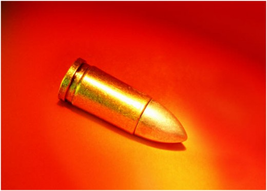 A bullet is only potent when it is fired from a gun; practice safety at all times. Safeguard your ammo.