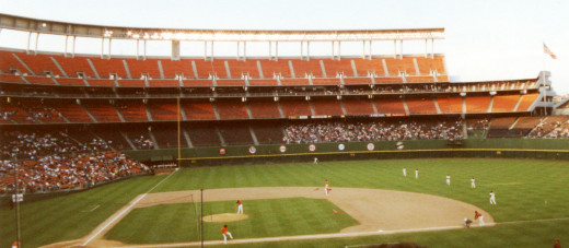 Jack  Murphy Stadium; Home of the San Diego Padres (1969-2003)