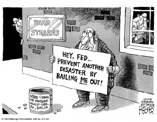 Bailout the people.