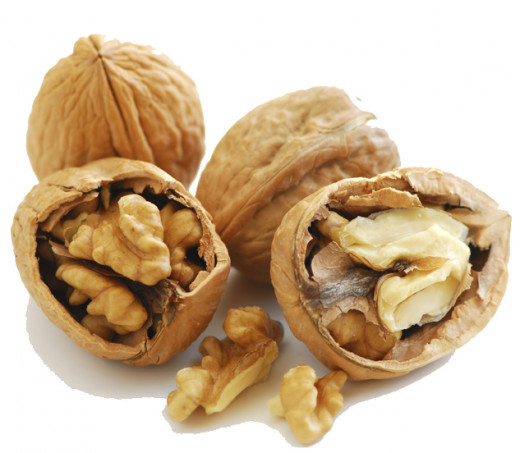 Walnuts are good for the heart.