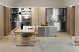Stainless Steel Island And Other Kitchen Appliances