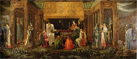 The Last Sleep of Arthur in Avalon, by Edward Burne-Jones