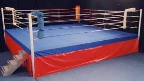 A boxing ring should be safe when it is put together so that the boxers will not get injured. You have to pay extra for padding and ring ropes.