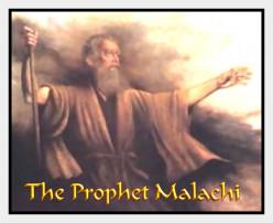 """""""Malachi's Eucharistic Prophecy"""""""