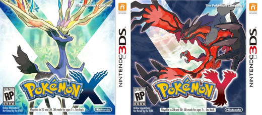 Pokémon X and Y Box Art