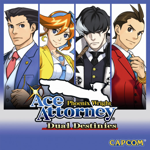 Phoenix Wright: Ace Attorney - Dual Destinies Box Art