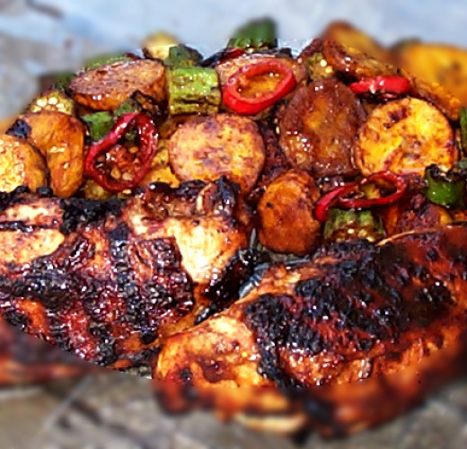 Jerk Chicken from Jamaica