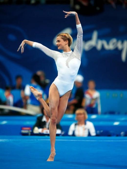 Svetlana Khorkina (Russia)