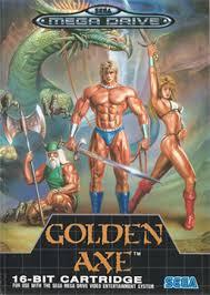 Cover of Golden Axe.