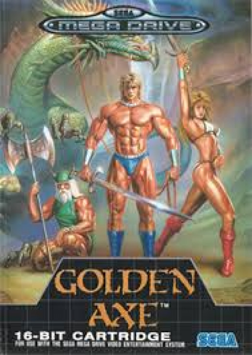 Cover of Golden Axe.