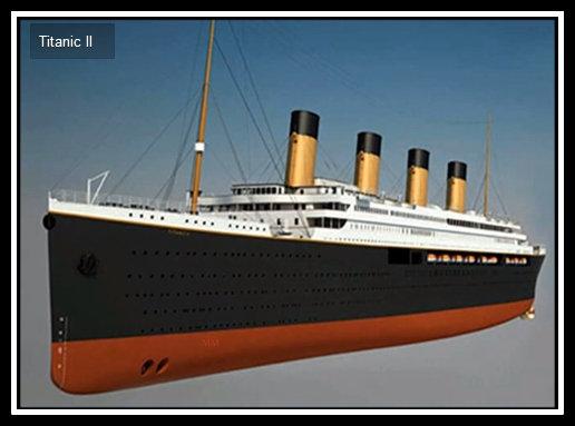 Proposed model of Titanic II