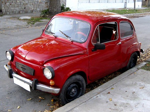 Mum's Little Red Car - The Colour of Confidence