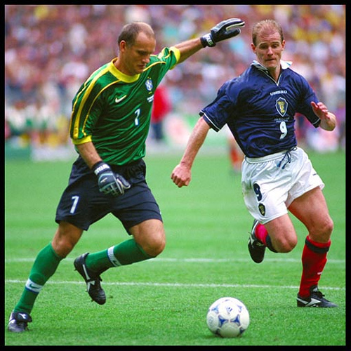 Taffarel with Brazil