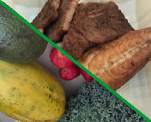 Vegetable or  meat diet?