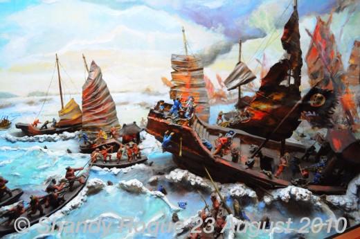 The Battle of Bach Dang, 938 A.D.