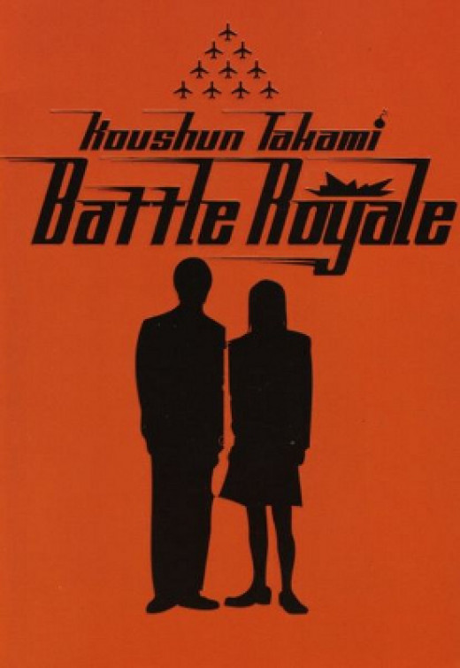The First English Edition of the Battle Royale Cover
