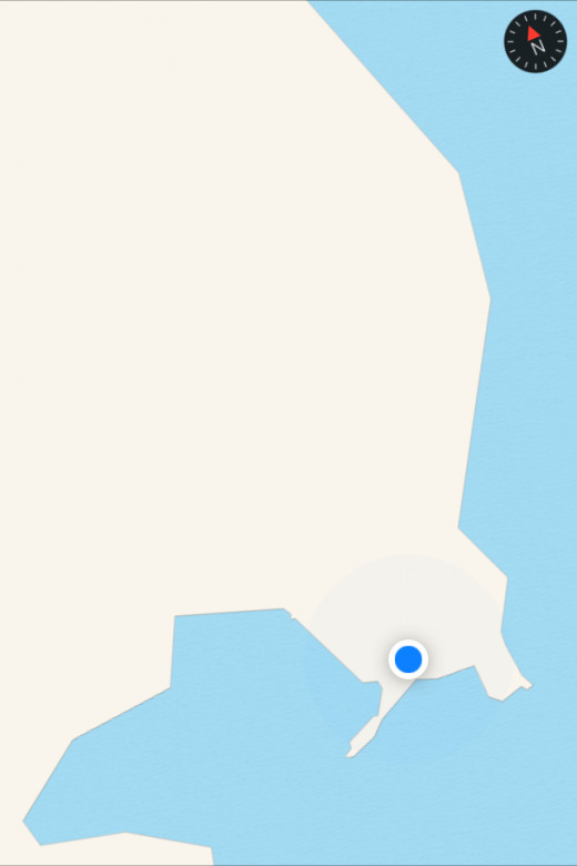 Belize according to Apple Maps