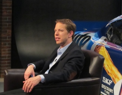 Keselowski is an entertaining interview whether planned in advance or during a rain delay