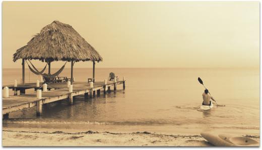 Kayaking Maya Beach