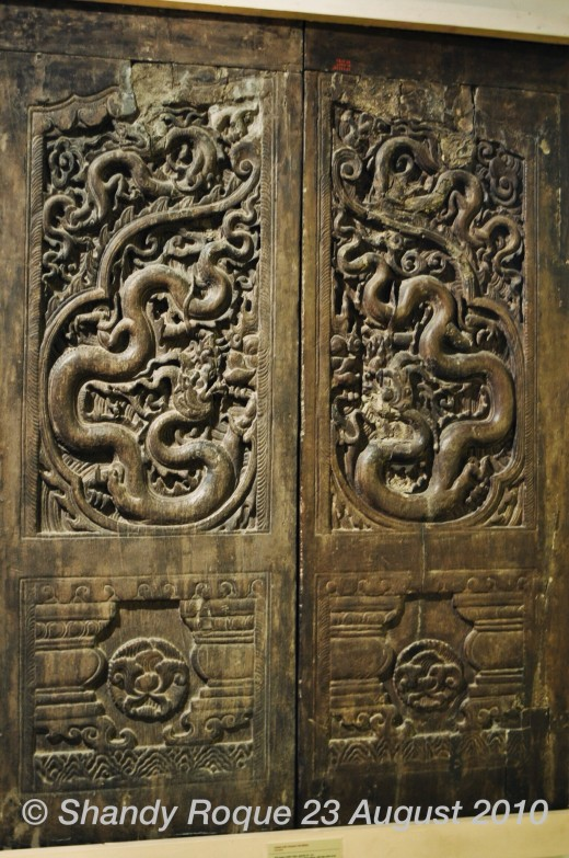 Doors from the Nguyen Dynasty