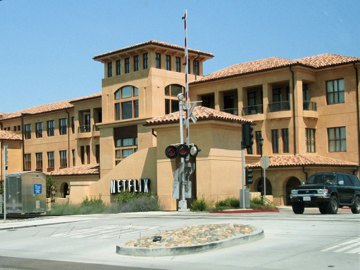 Netflix's headquarters in Los Gatos, California.