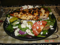 The Homemade Greek Salad
