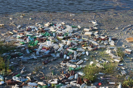 Trash can be a problem that plagues our waters.