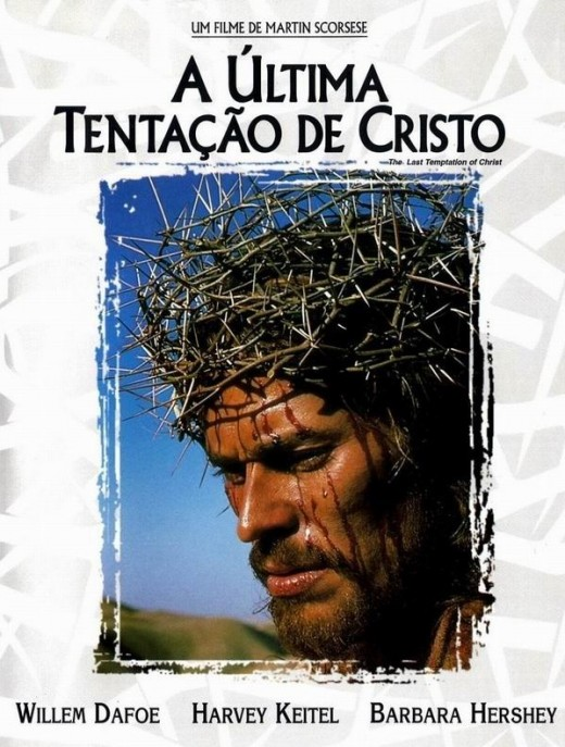 The Last Temptation of Christ (1988) Portuguese poster