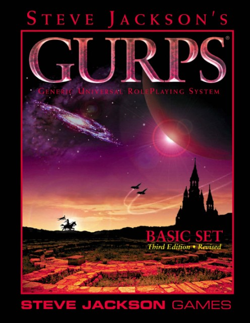 GURPS Basic Set 3rd Edition Revised