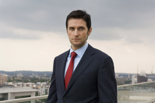 "Richard Armitage as agent Lucas North, in BBC's ""Spooks"" (aka ""MI-5"" in the United States). Image courtesy of richardarmitagenet.com"