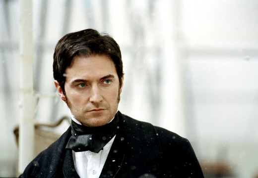 "Richard Armitage as mill-owner John Thornton in BBC miniseries ""North and South.""  Image courtesy of richardarmitagenet.com"