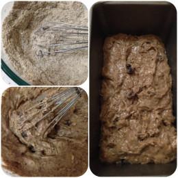 Preparing Banana Bread Batter