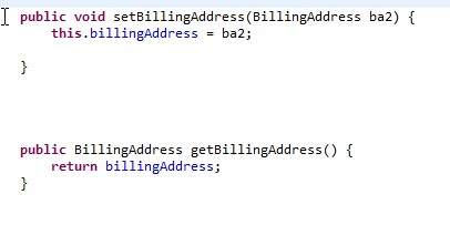 Code as entered in ECLIPSE.