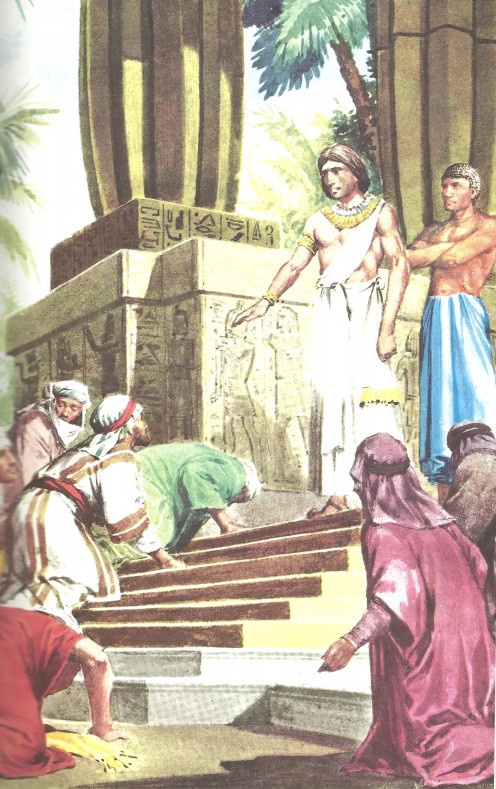 The Pharaoh Rewards Joseph & His Brothers Ask For Forgiveness.