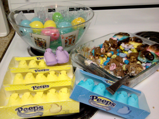Gather your peeps. It's time for Peep Casserole.