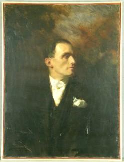 Giuseppe Palanti - protrait of Mario Palanti, 1924