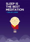 Sleep vs. meditation