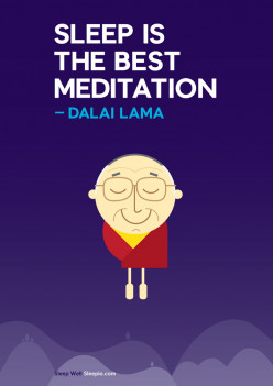 Sleep vs. meditation
