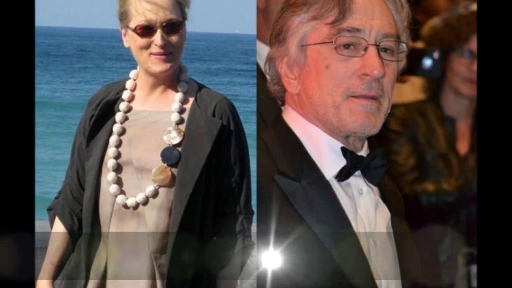 Robert De Niro and Meryl Streep lock