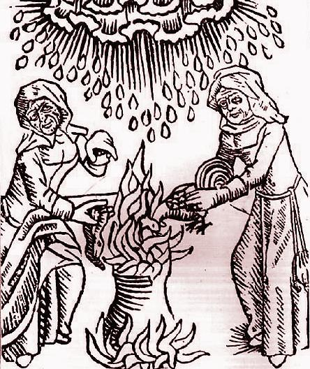 Witches knew the recipes for potions and unguents to aid in their shapeshifting rituals.