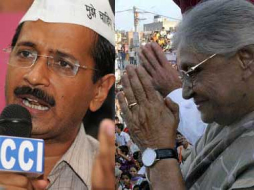 Sheila Dixit lost her constituency to Arvind Kejriwal, by a humongous margin of over 25,000 votes