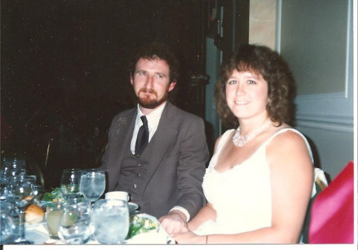 On our honeymoon...